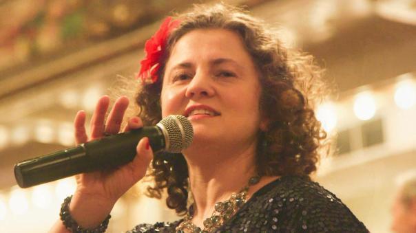 Balkan Bash –Gogofski vocalist Kasia Sokallo